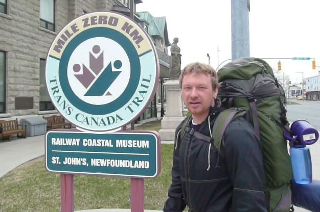 Dana Meise traverse le Canada à pied....