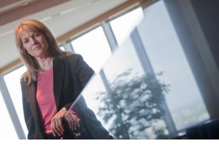 Franziska Ruf, associée au cabinet d'avocats Davies Ward... (Photo Ivanoh Demers, La Presse)