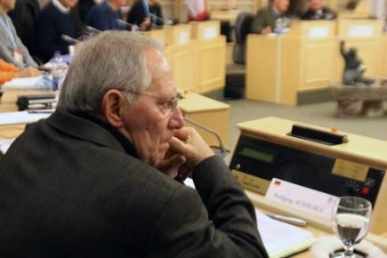 Le ministre des Finances Wolfgang Schäuble est confiant... (Photo PC)