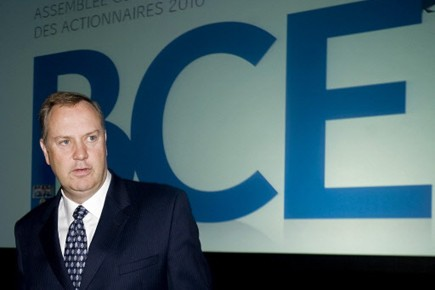 George Cope, le PDG de BCE.... (Photo PC)