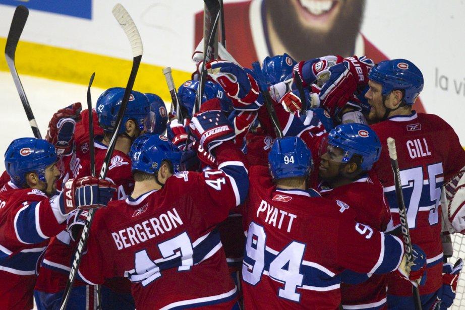 Le Canadien a égalé sa série grâce à... (Photo: André Pichette, La Presse)