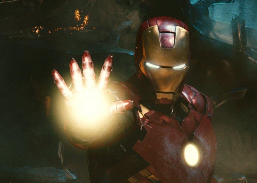 Iron Man... (Photo Paramount Pictures)