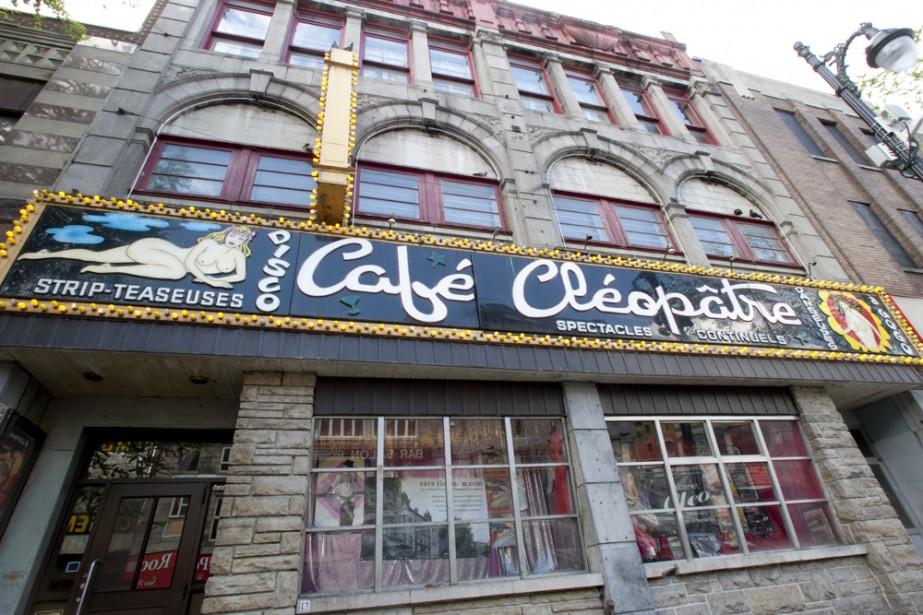 Le Café Cléopâtre, un cabaret de variétés et... (Photo: François Roy, La Presse)