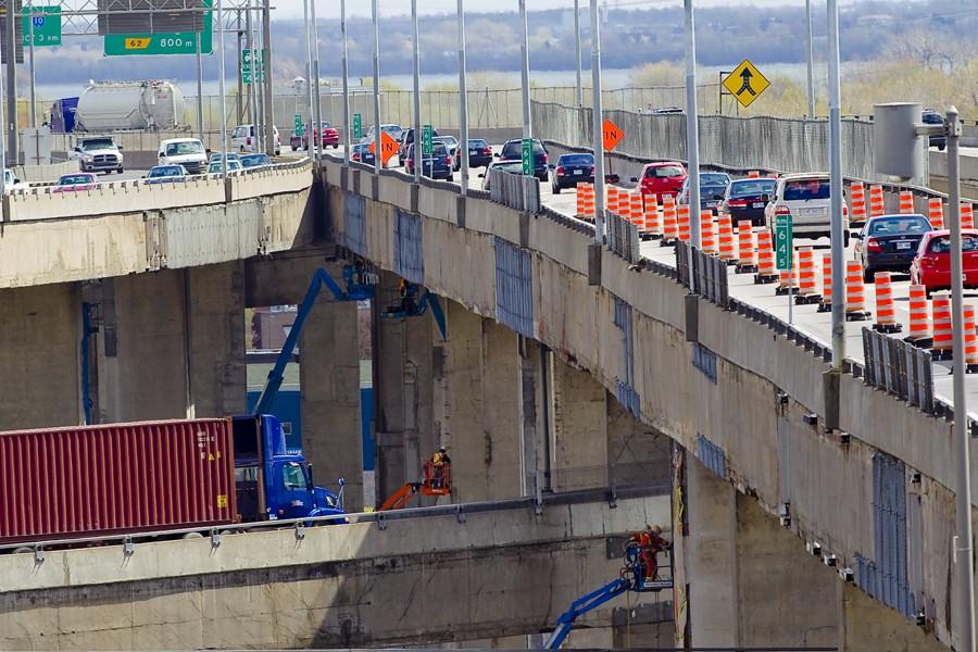 Le nouvel échangeur Turcot aura un impact majeur... (Photo: André Pichette, La Presse)