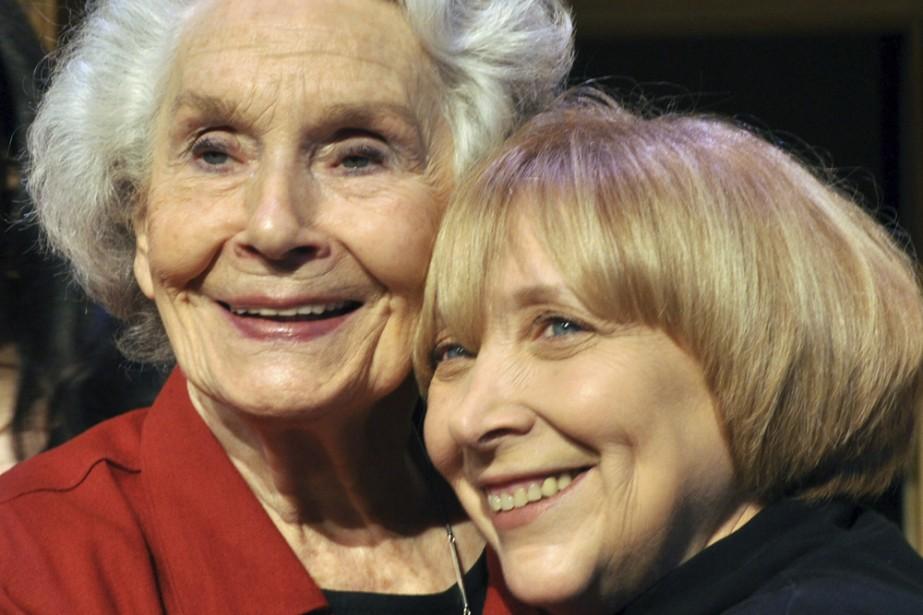 La comédienne Françoise Faucher (à gauche) participera à... (Photo: fournie par le Centre Segal)