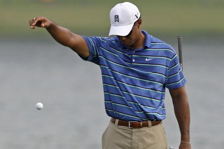 Tiger Woods a commis son seul boguey de... (Photo: Reuters)
