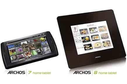 Le fabricant français Archos, présent sur le marché des... (www.archos.com)