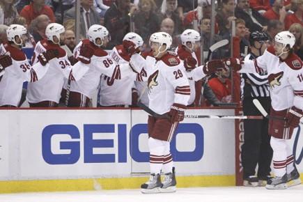 Le groupe Ice Edge est de retour dans le portrait pour faire... (Photo: AP)