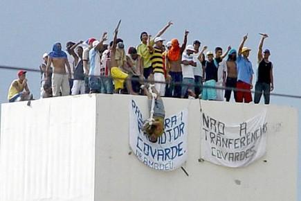 Michel Alves das Chagas et Anselmo Garcia de... (Photo: archives AFP)