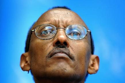 Il y a 10 ans, le président rwandais... (Photo: AFP)
