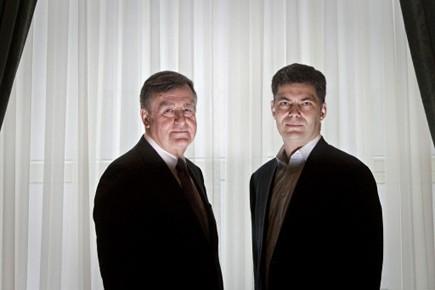 Lucien Bouchard et Mario Dumont.... (Photo: Ivanoh Demers, La Presse)