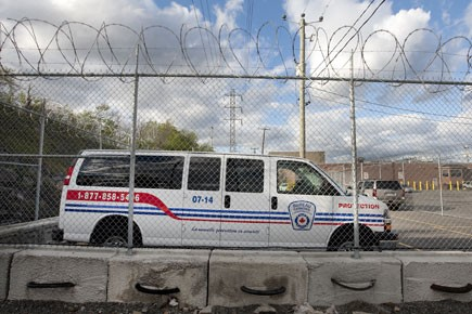 La firme de sécurité BCIA, propriété de Luigi... (Photo: Robert Skinner, La Presse)