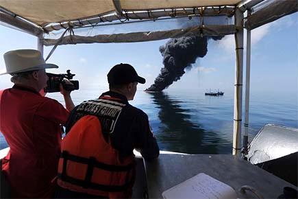 Des responsables américains surveillaient hier, au large de... (Photo: Reuters)
