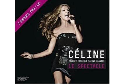 DVD CD, Céline Dion. Tournée mondiale Taking chances***...