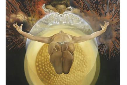 L'ascension du Christ de Dali, une des oeuvres... (Photo fournie)