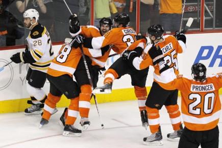Les Bruins de Boston ont constaté une nette amélioration dans... (Photo: Reuters)