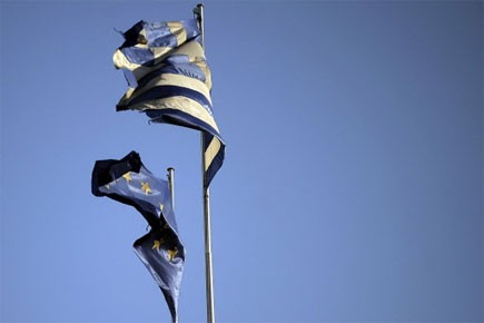 Le premier ministre grec Georges Papandréou s'est dit... (Photo: AFP)