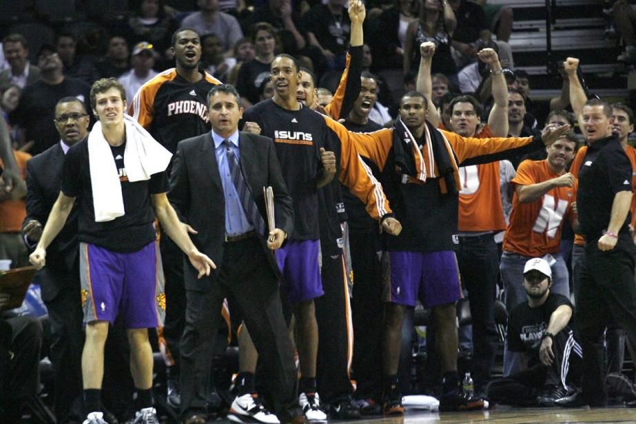 Phoenix n'avait plus atteint ce stade des séries... (Photo: Reuters)