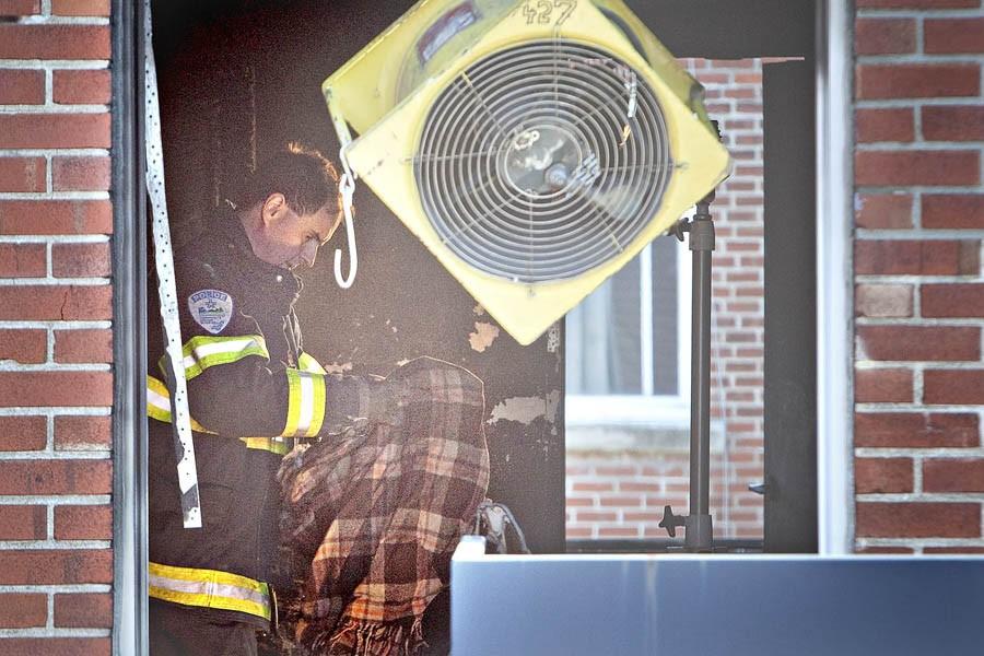 L'avertisseur de fumée du logement n'était pas fonctionnel.... (Photo: Patrick Sanfaçon, La Presse)