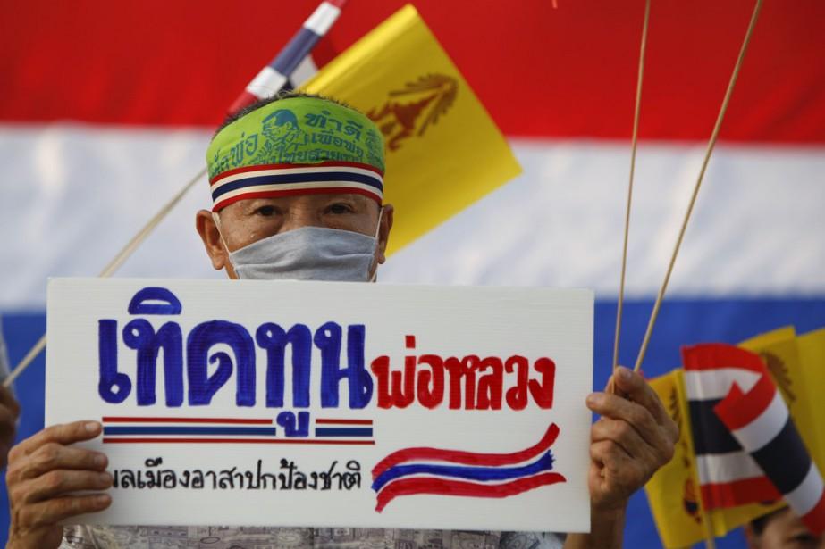 Les manifestations de «chemises rouges» et de militants... (Photo: Reuters)