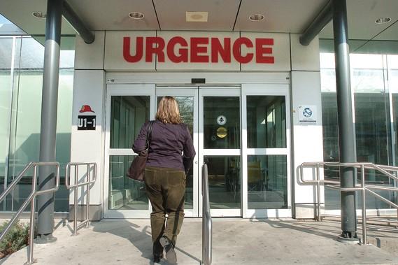 Les patients de l'Hôpital régional de Windsor, en... (Photothèque Le Soleil)