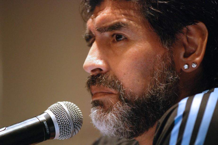 Diego Maradona... (Photo: AFP)