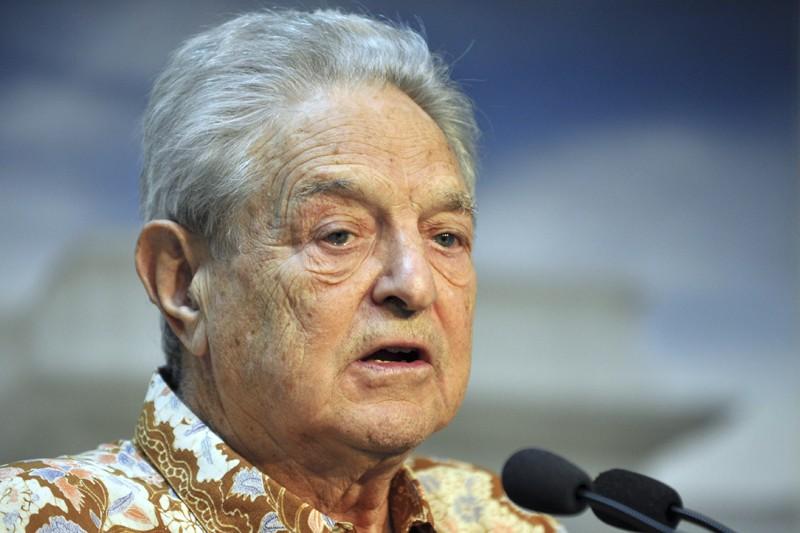 Depuis l'attaque de George Soros (notre photo) sur... (PHOTO BAY ISMOYO, AGENCE FRANCE-PRESSE)