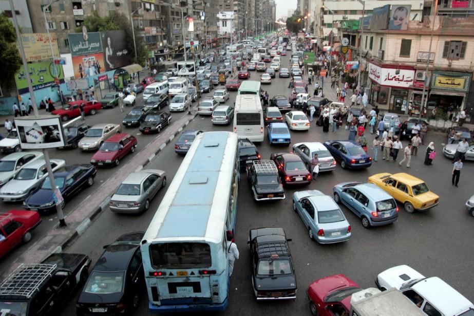 Le Caire à l'heure de pointe.... (Photo: archives AP)