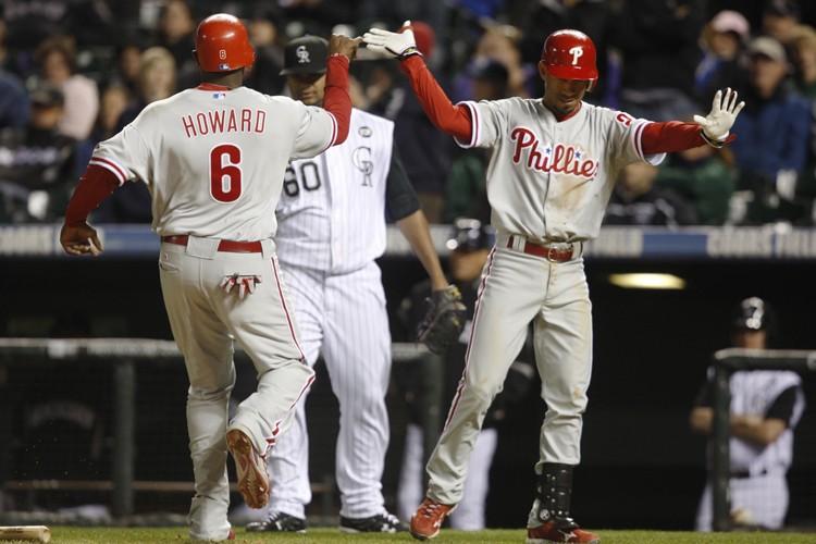 Les Phillies de Philadelphie l'ont emporté 9-5 contre... (Photo: AP)