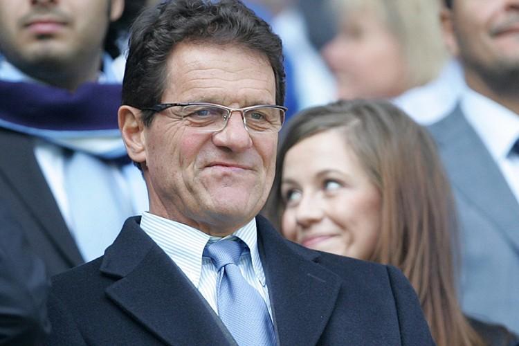 Le sélectionneur de l'Angleterre Fabio Capello... (Photo: AP)