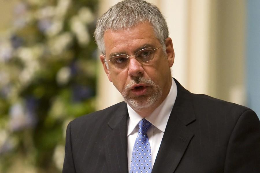 Le ministre Jacques Dupuis... (Photo: Archives PC)