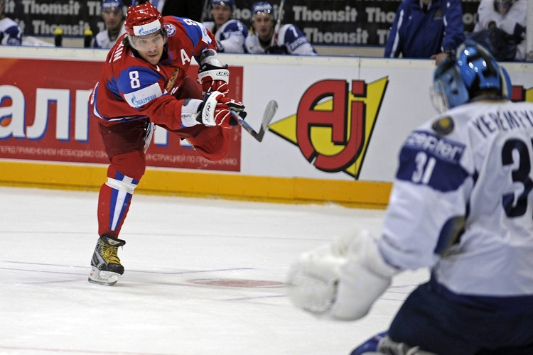 Alexander Ovechkin a marqué le premier but de... (Photo: AP)