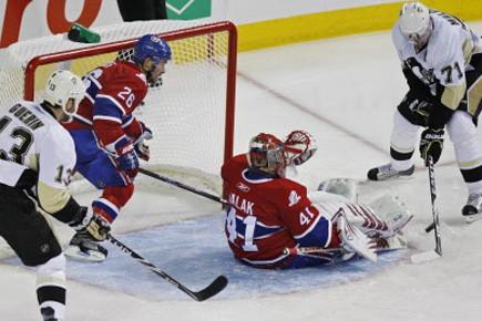 Les Penguins de Pittsburgh n'ont pas disputé... (Photo Robert Skinner, La Presse)
