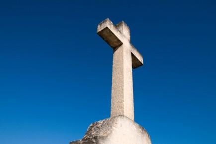 Avant d'être dérobée, la croix avait été l'objet... (Photothèque La Presse)