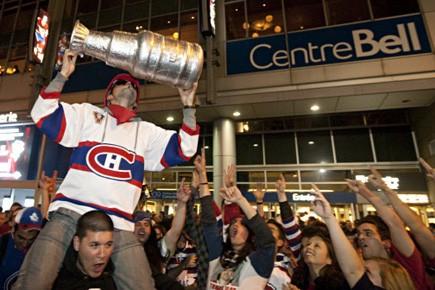 Le Centre Bell lors de la victoire du... (Photo François Roy, La Presse)