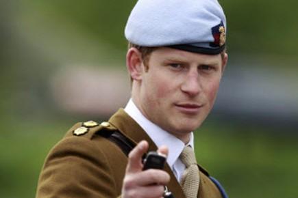 Le prince Harry avait été envoyé secrètement en... (Photo: Reuters)
