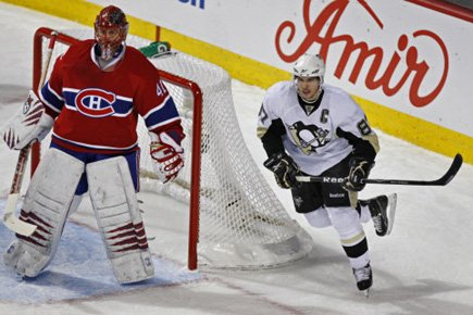 «Cette fois-ci, je vous l'assure, Sidney Crosby ne... (Photo Robert Skinner, La Presse)