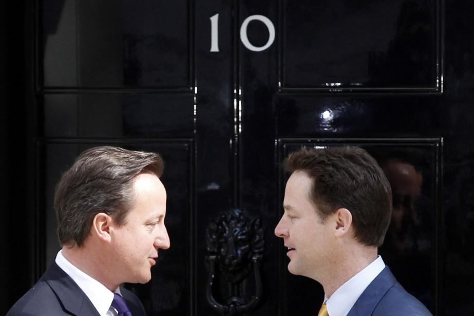 Nick  Clegg a formé une coalition avec... (Photo: Reuters)