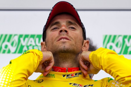 Alejandro Valverde continue à narguer l'Union cycliste internationale... (Photo: AFP)