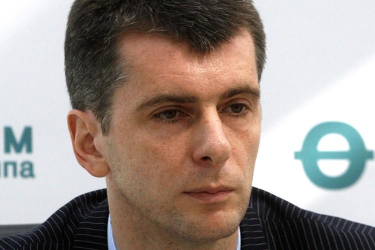 Le milliardaire russe Mikhail Prokhorov est le nouveau... (Photo: AP)