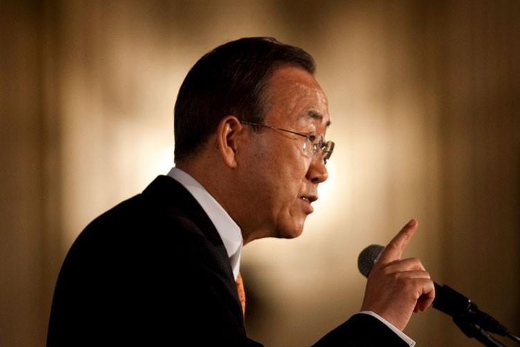 Le secrétaire général de l'Organisation des nations unies,... (La Presse Canadienne, Sean Kilpatrick)