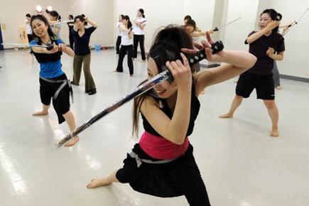 Afin d'éviter que la séance de gym ne... (Photo: AFP)