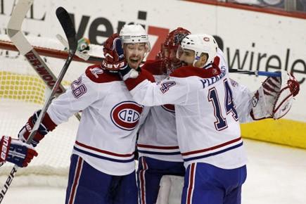 Quelle belle victoire ! Tout au long de la série, Brian... (Photo: Reuters)
