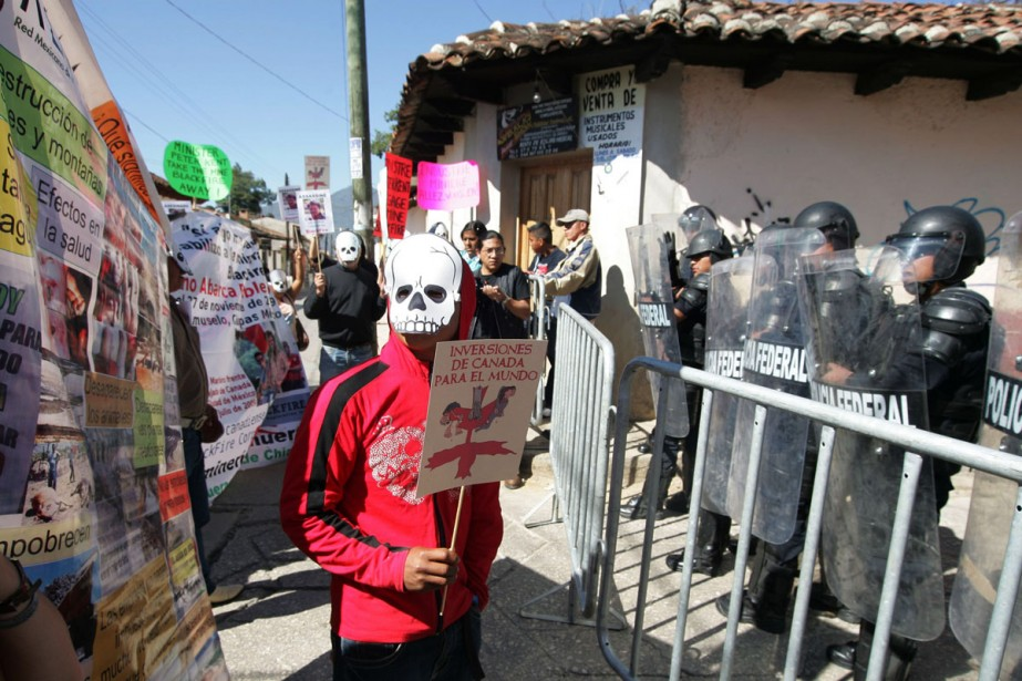 En décembre dernier, des manifestants ont profité du... (Photo: archives Reuters)