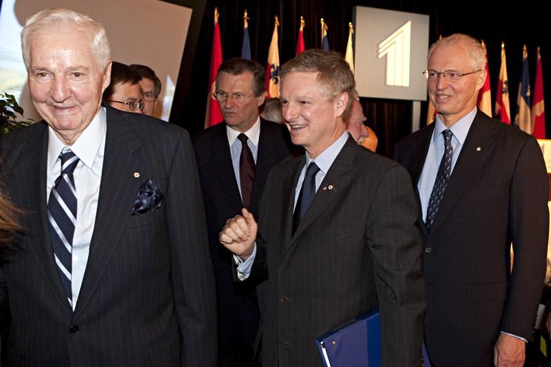 Paul Desmarais, président du comité exécutif de Power... (PHOTO FRANÇOIS ROY, LA PRESSE)