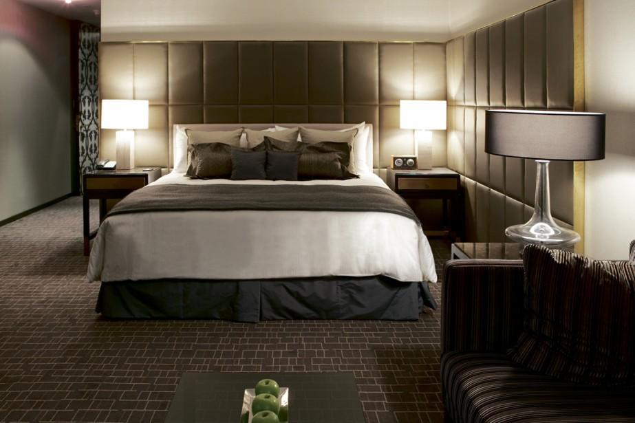 Une chambre du Hazelton Hotel, établissement cinq étoiles... (Photo: archives La Presse)