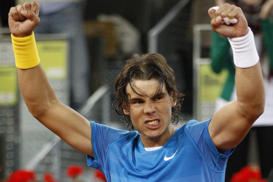 Rafael Nadal... (Photo: AFP)