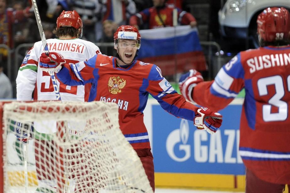 Sergei Mozyakin... (Photo: AP)