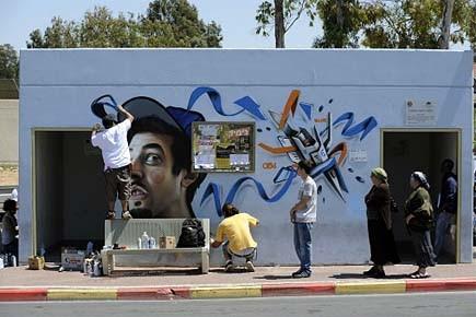 Des artistes d'Espagne et de New York ont... (Photo: Reuters)