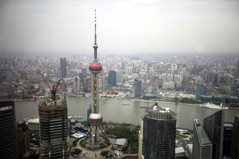 L'observatoire de l'Oriental Pearl, la plus haute tour... (Photo Associated Press)